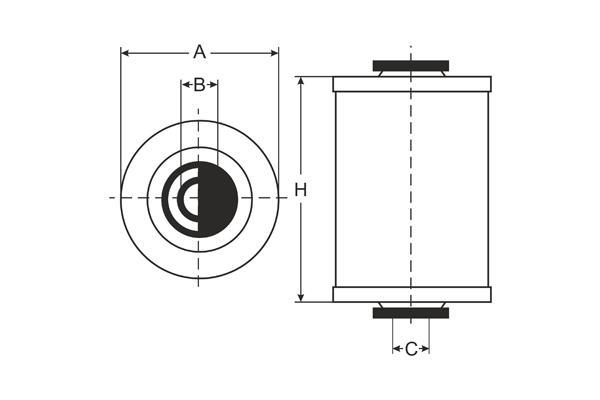 sl 602 fuel filter sct