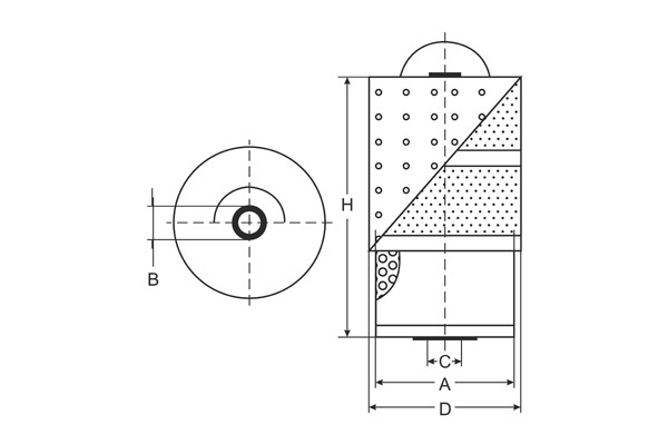 sf 501 oil filter sct