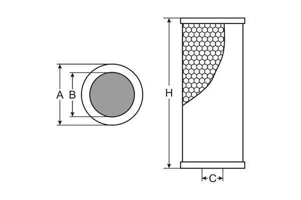 sh 420 p oil filter sct
