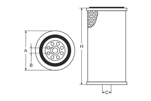sh 4750 oil filter sct