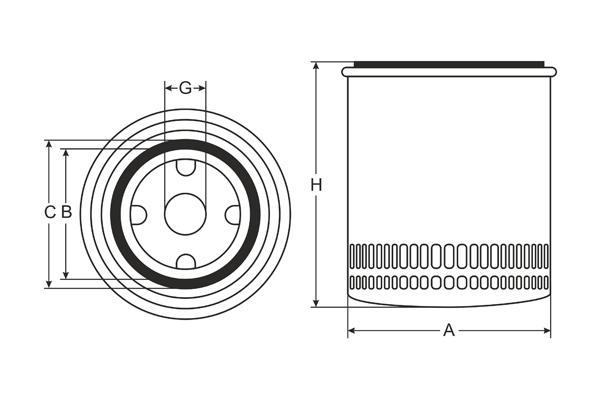 sv 7503 coolant filter sct