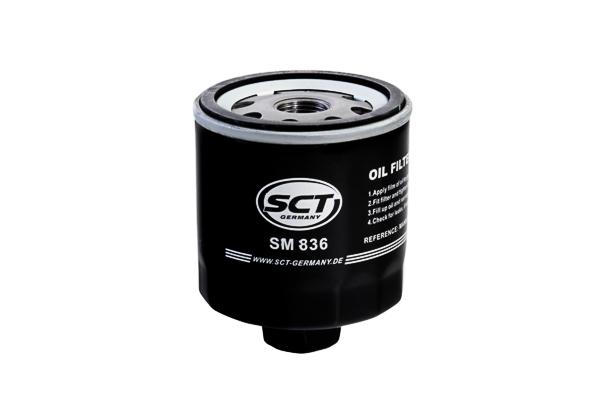 offert SCT Germany SM 836 Filtre à huile convient pour VW Polo Coupé