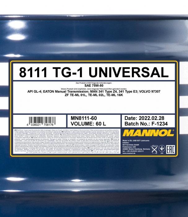 8111 TG-1 Universal 75W-80 API GL-4