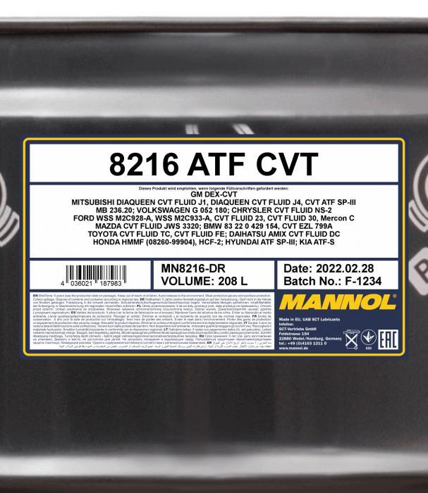 O E M  8216 for CVT